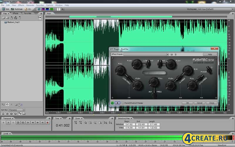 Adobe Audition 3.0 (RUS) (Скриншот 1)
