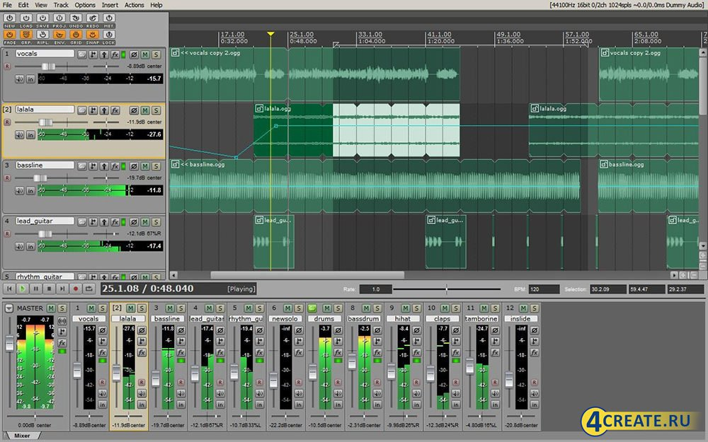 Adobe Audition 3.0 (RUS) (Скриншот 4)