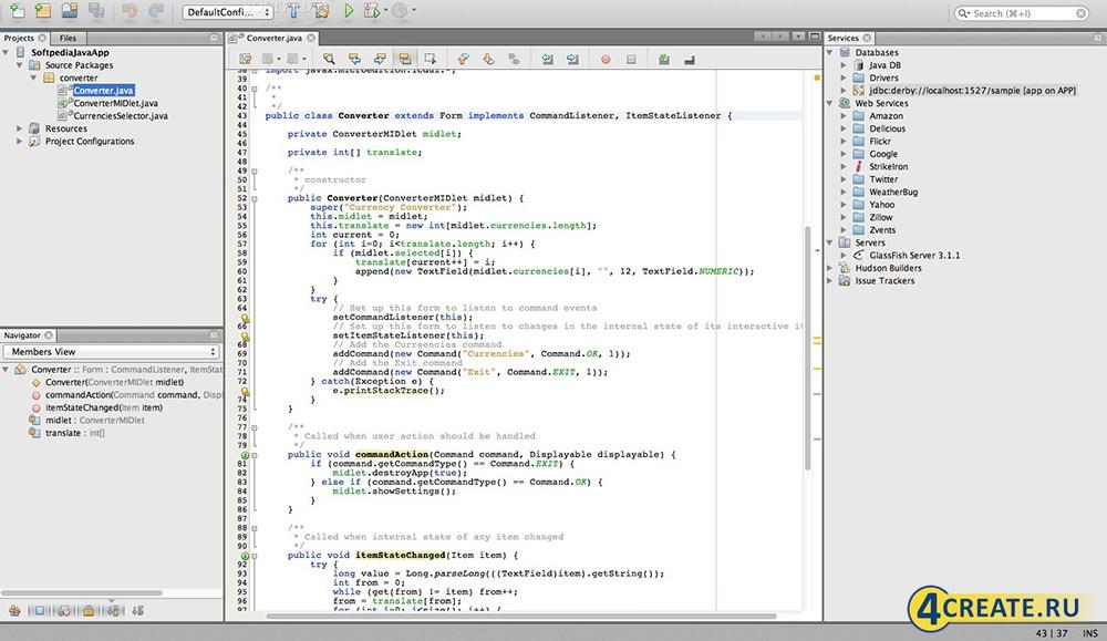 NetBeans 8.0.2 (Скриншот 4)
