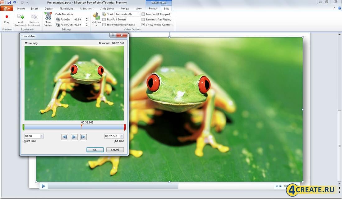 PowerPoint 2010 (Скриншот 4)