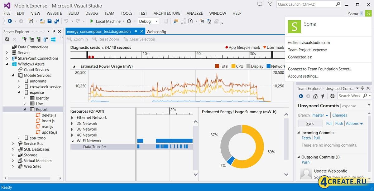 Microsoft Visual Studio Ultimate 2013 (Скриншот 4)