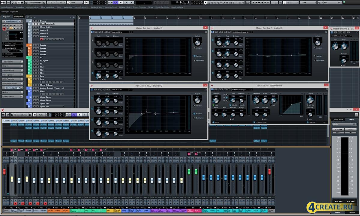 Cubase 8.0.2.0 (Скриншот 4)