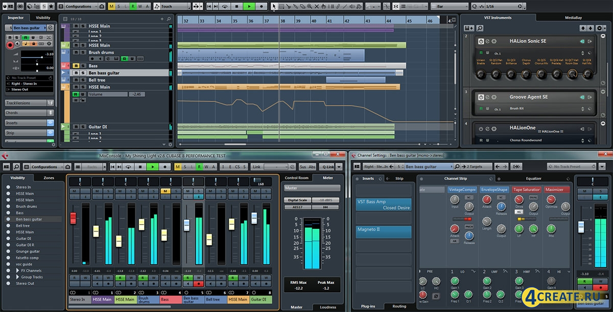 Cubase 8.0.2.0 (Скриншот 2)