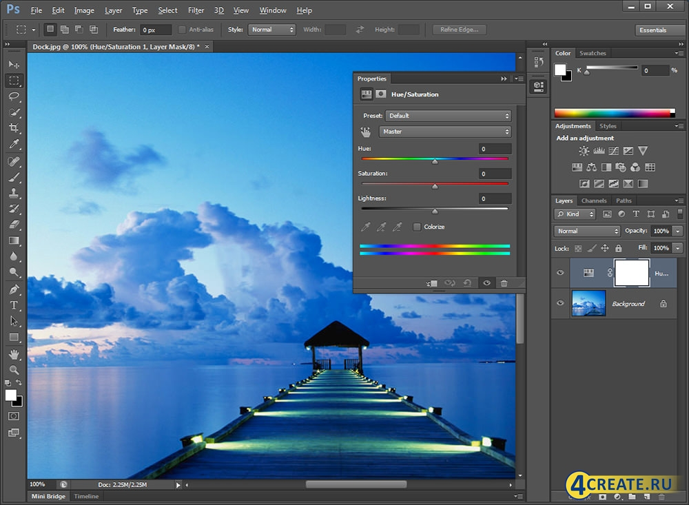 Adobe Photoshop CS6 (Скриншот 1)