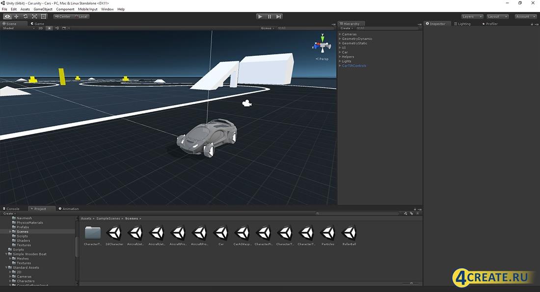 Unity3D PRO (Скриншот 3)