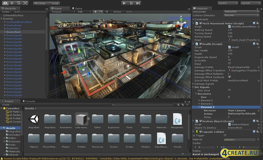 Unity3D PRO (Скриншот 4)