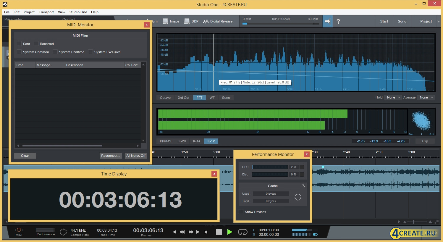 PreSonus - Studio One 3 Professional (Скриншот 3)