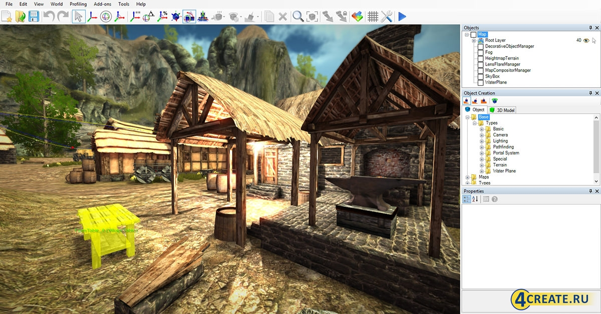 NeoAxis 3.3 (Скриншот 2)