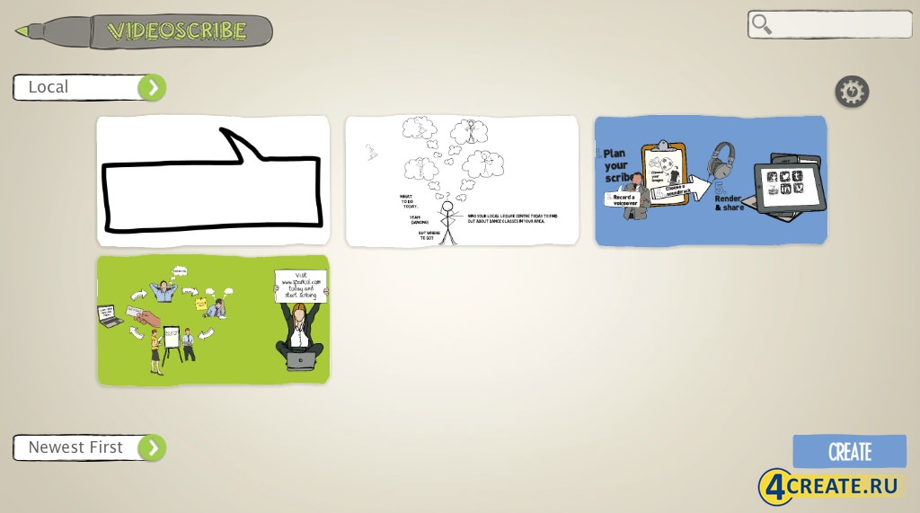 Sparkol Videoscribe 2.3 (Скриншот 1)