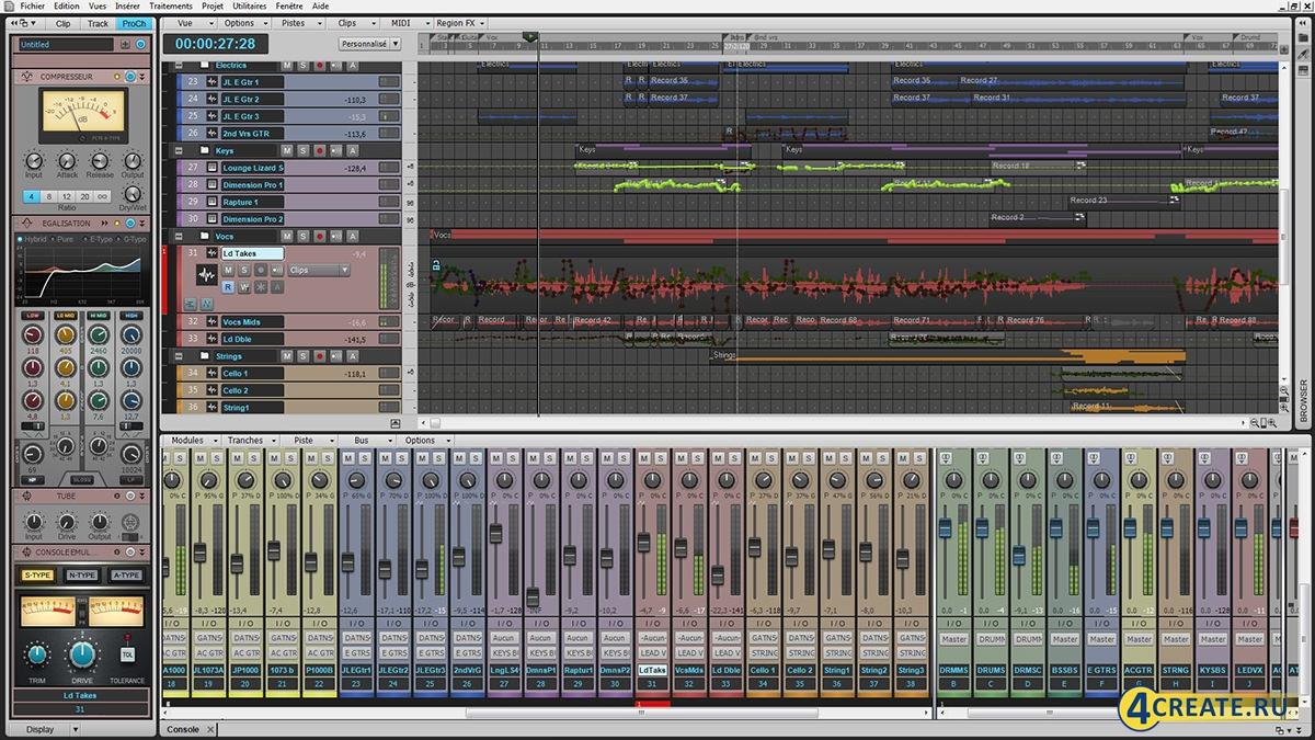 Cakewalk Sonar X3 (Скриншот 4)