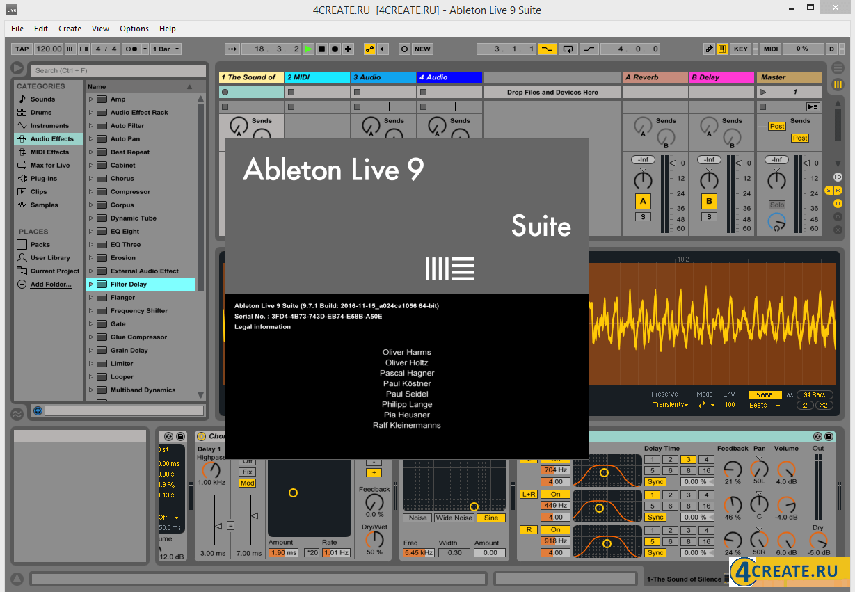 Ableton - Live Suite 9.7 (Скриншот 1)