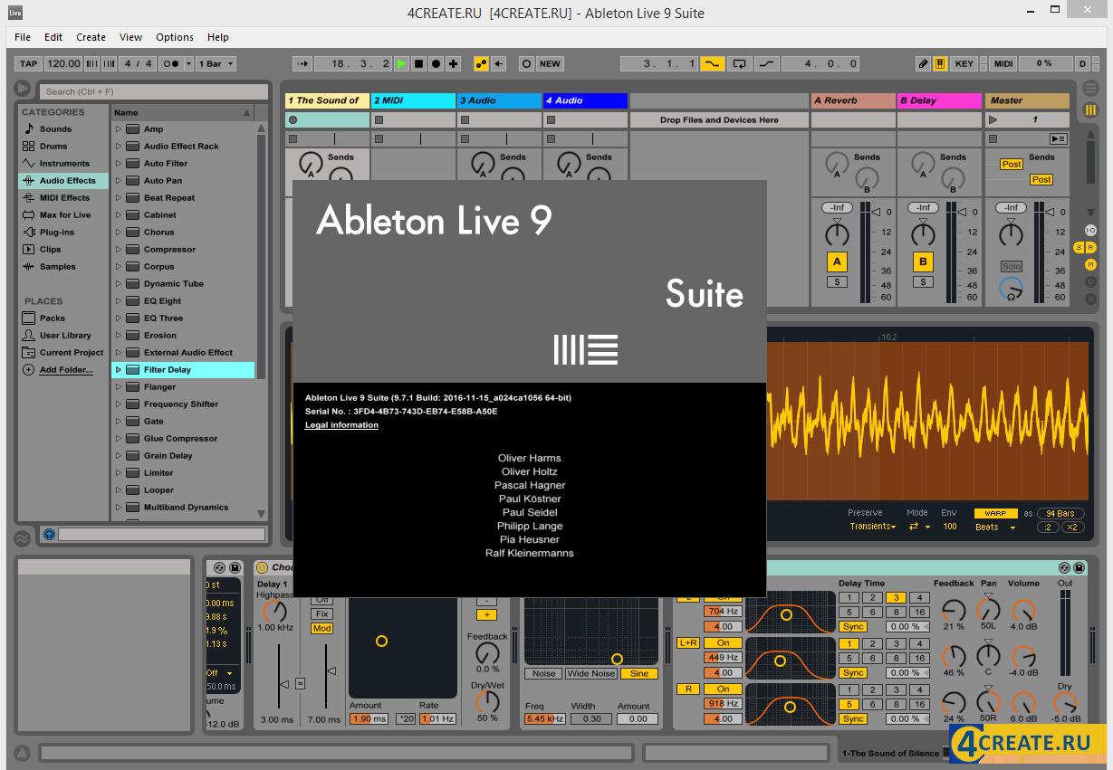 Ableton - Live Suite 9.7 (Скриншот 1)