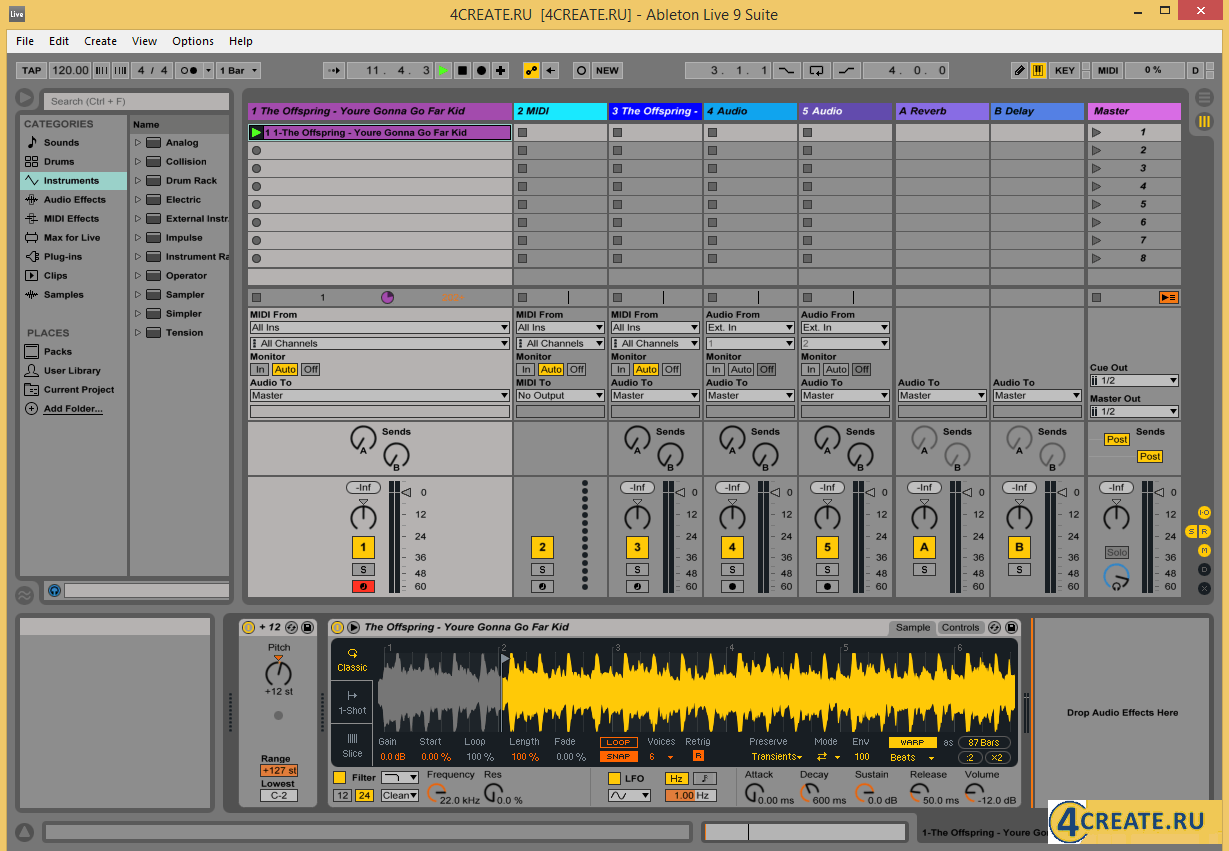Ableton - Live Suite 9.7 (Скриншот 4)