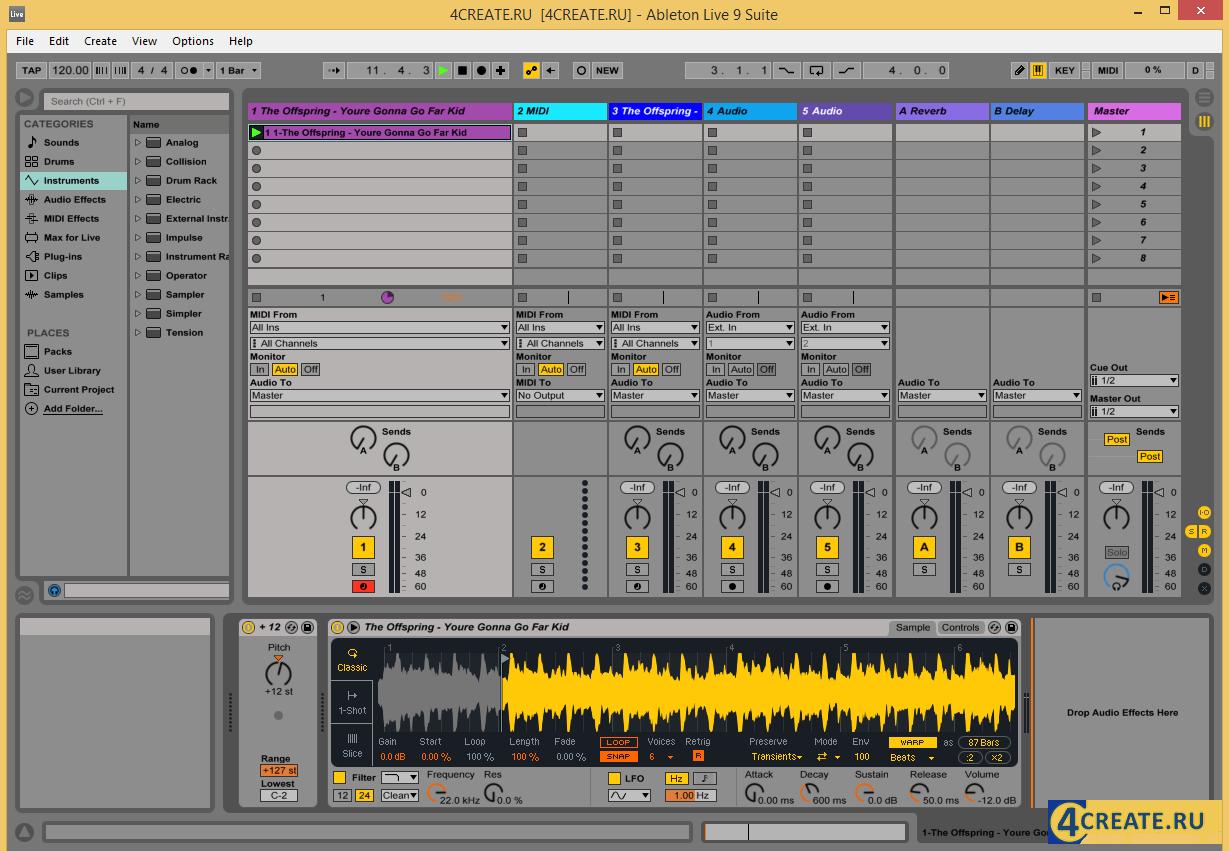 Ableton - Live Suite 9.7 (Скриншот 4)