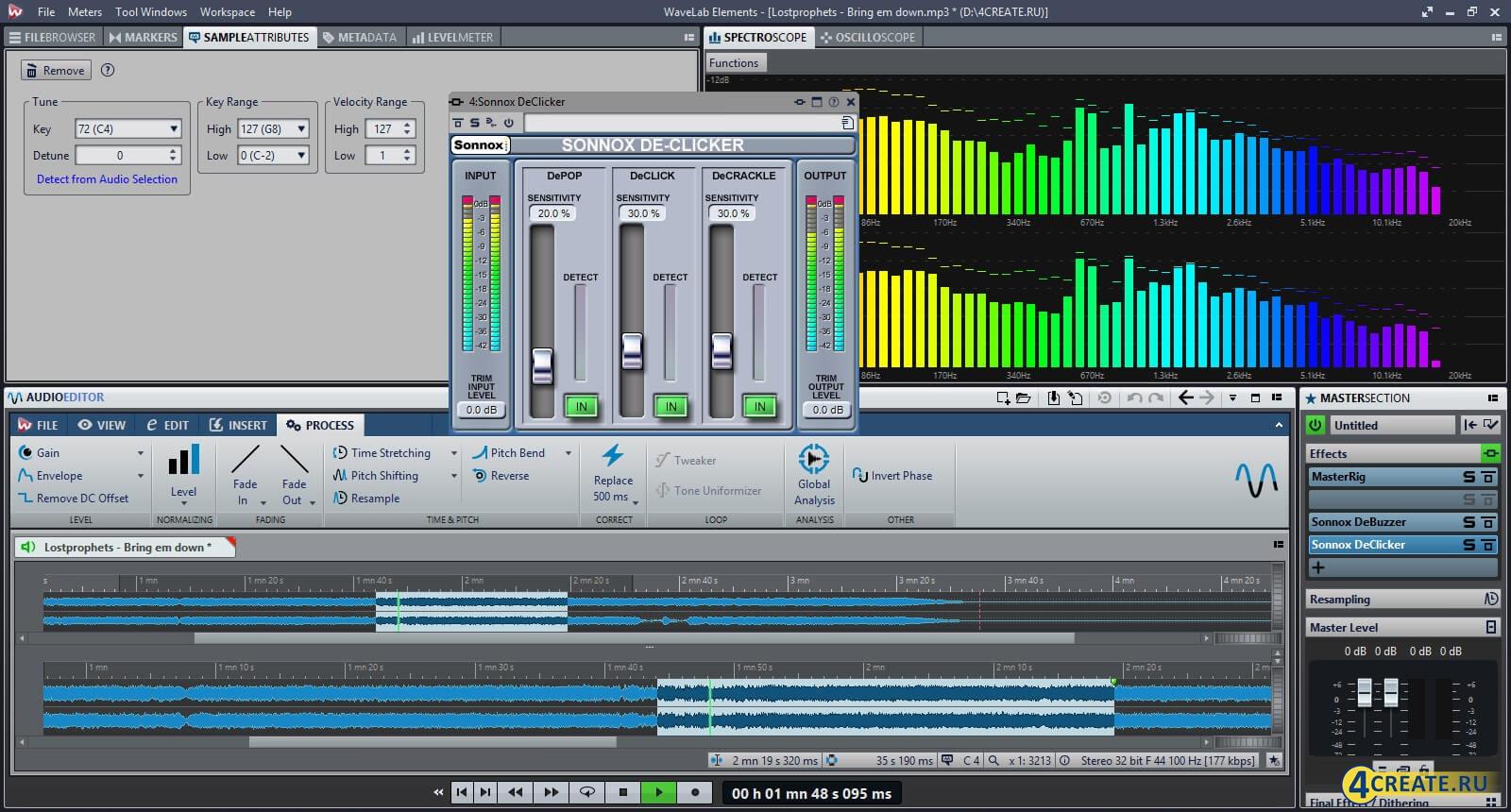 Wavelab 9.0 (Скриншот 2)