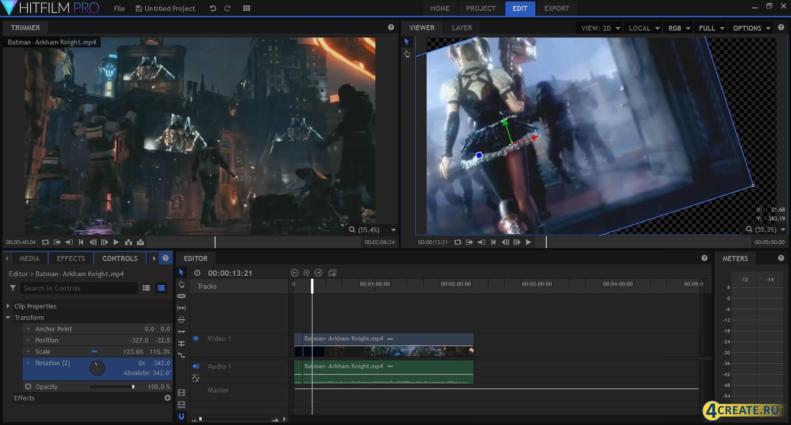 HitFilm Pro 5.0 (Скриншот 2)