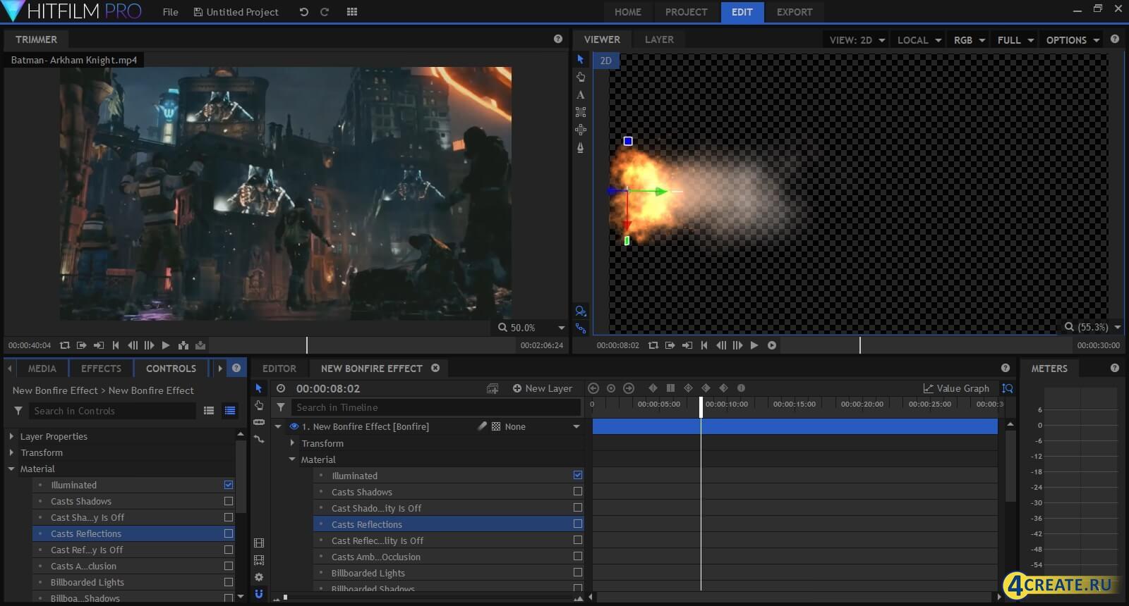 HitFilm Pro 5.0 (Скриншот 3)