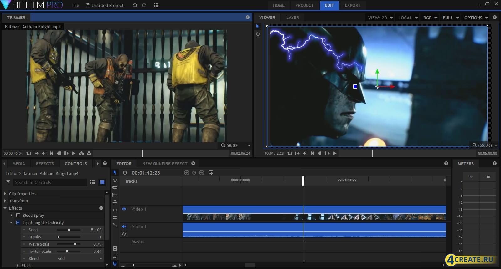 HitFilm Pro 5.0 (Скриншот 4)