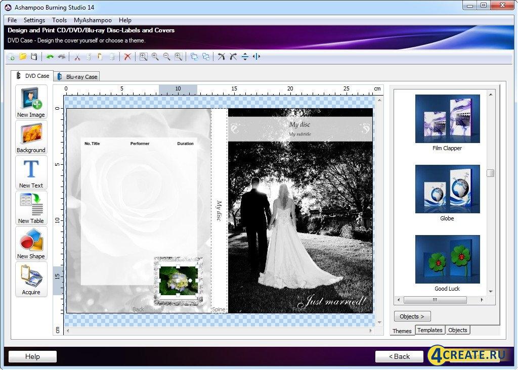 Ashampoo Burning Studio 14.1.2 (Скриншот 1)