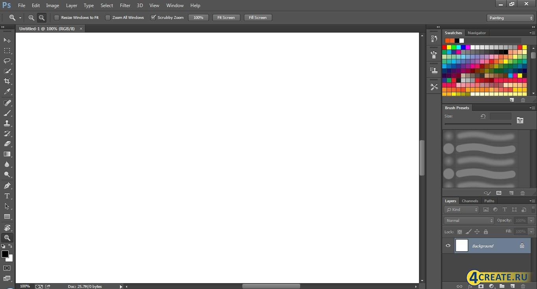 Adobe Photoshop CC 2017 (Скриншот 2)