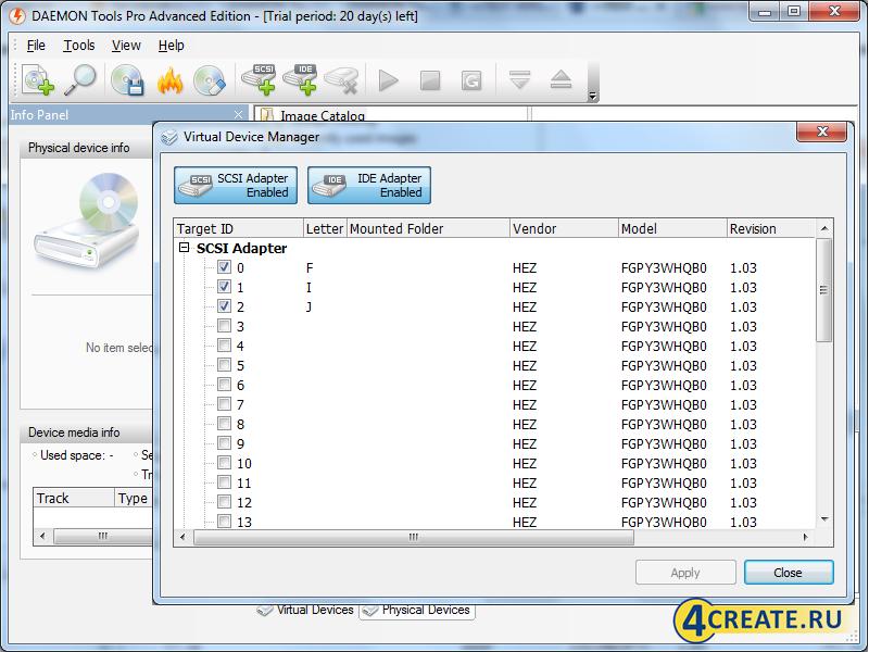 DAEMON Tools Pro 8.2.0.0708 (Скриншот 2)