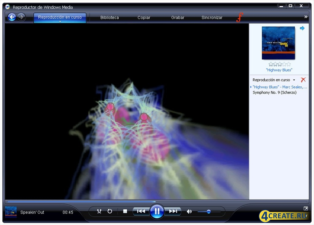 Windows Media Player 11.0.5721.5230 (Скриншот 2)