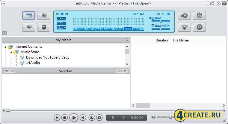 jetAudio 8.1.7 (Скриншот 2)