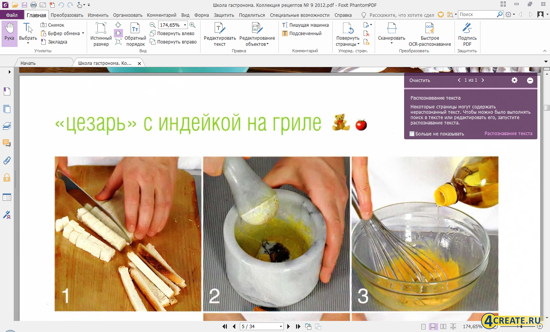 Foxit Advanced PDF Editor 7.0.8.1216 (Скриншот 2)