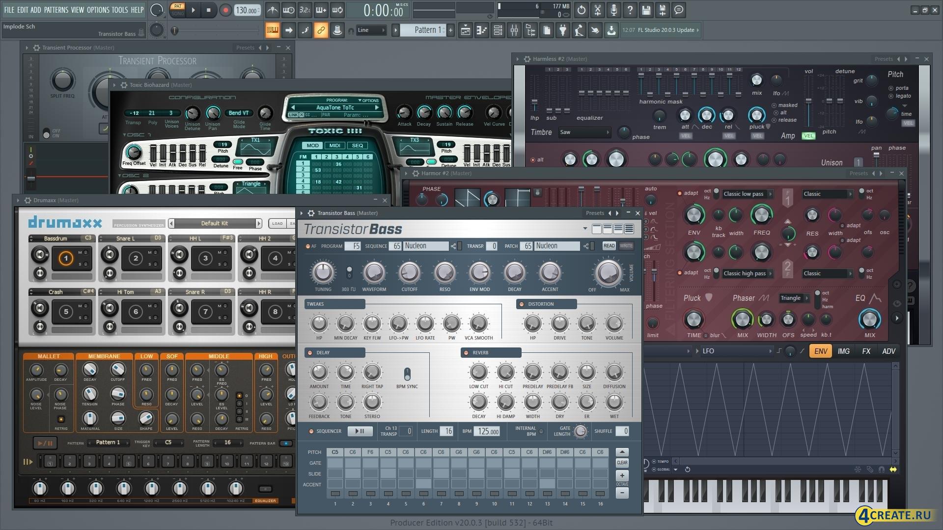 FL Studio 20.1.1.795 (Скриншот 3)