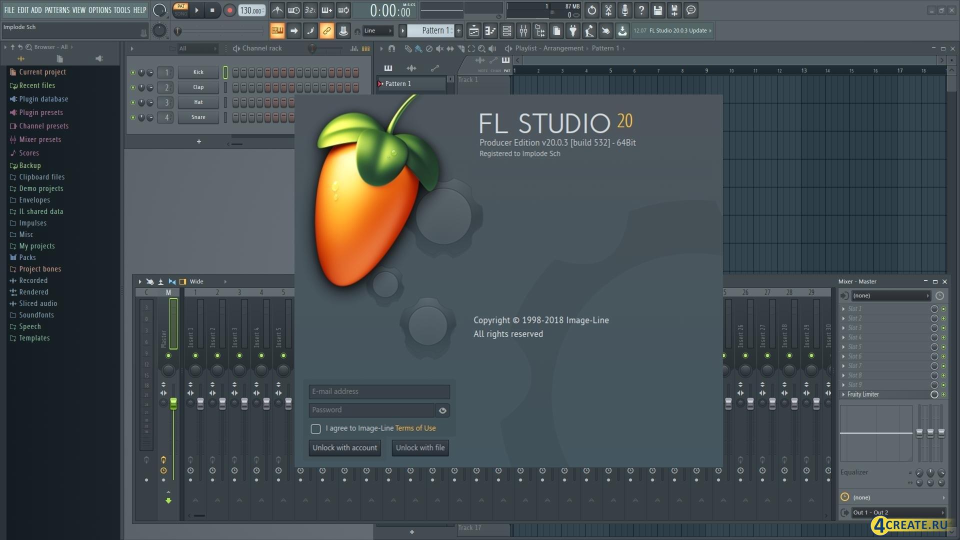 FL Studio 20.1.1.795 (Скриншот 4)