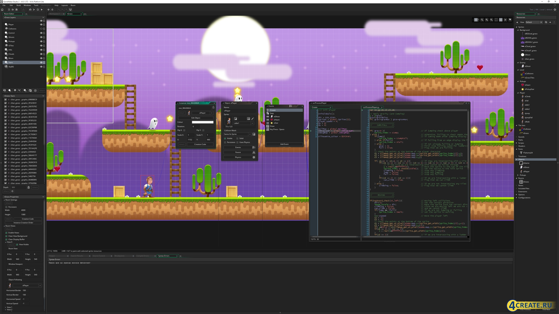 Game Maker Studio 2.1.4.285 (Скриншот 3)
