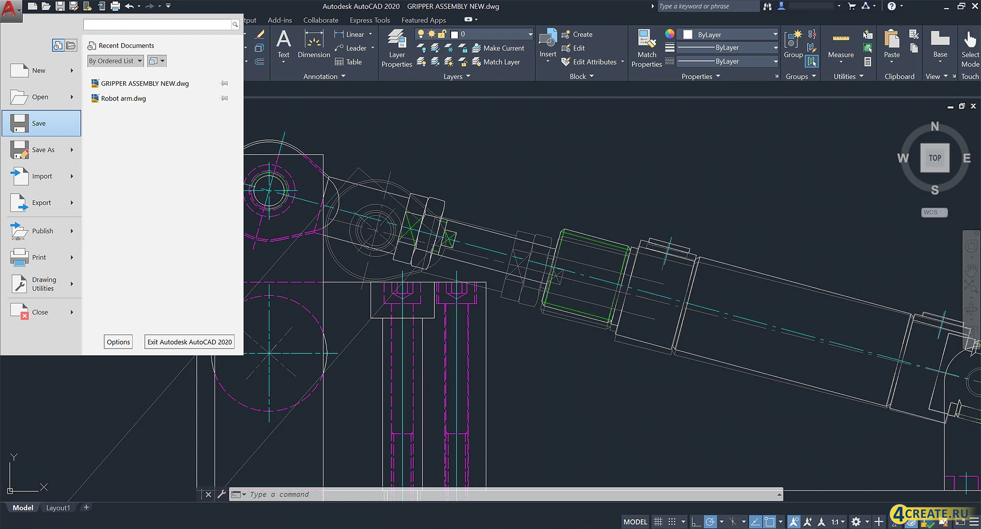 Autodesk AutoCAD 2019 (Скриншот 3)