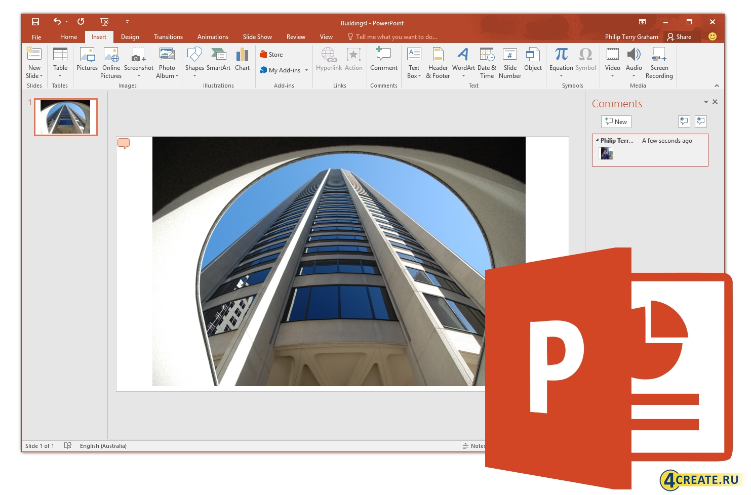 Microsoft Office Pro Plus 2016 v16.0.4266.1003 (Скриншот 2)