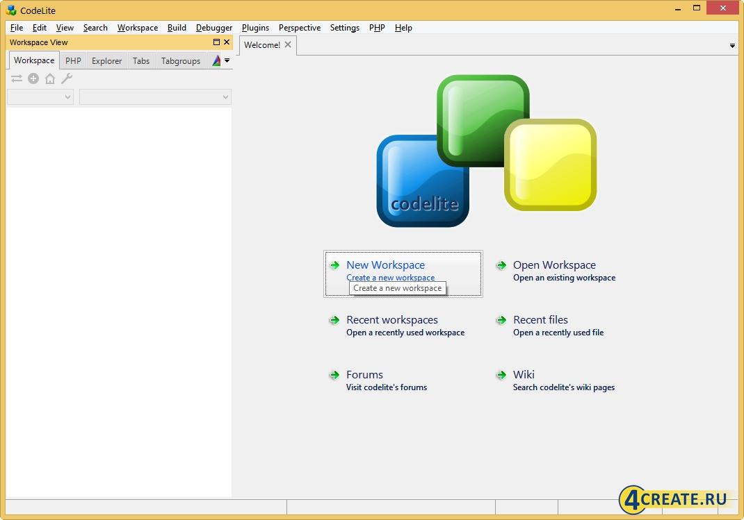 CodeLite 13.0.8 (Скриншот 1)