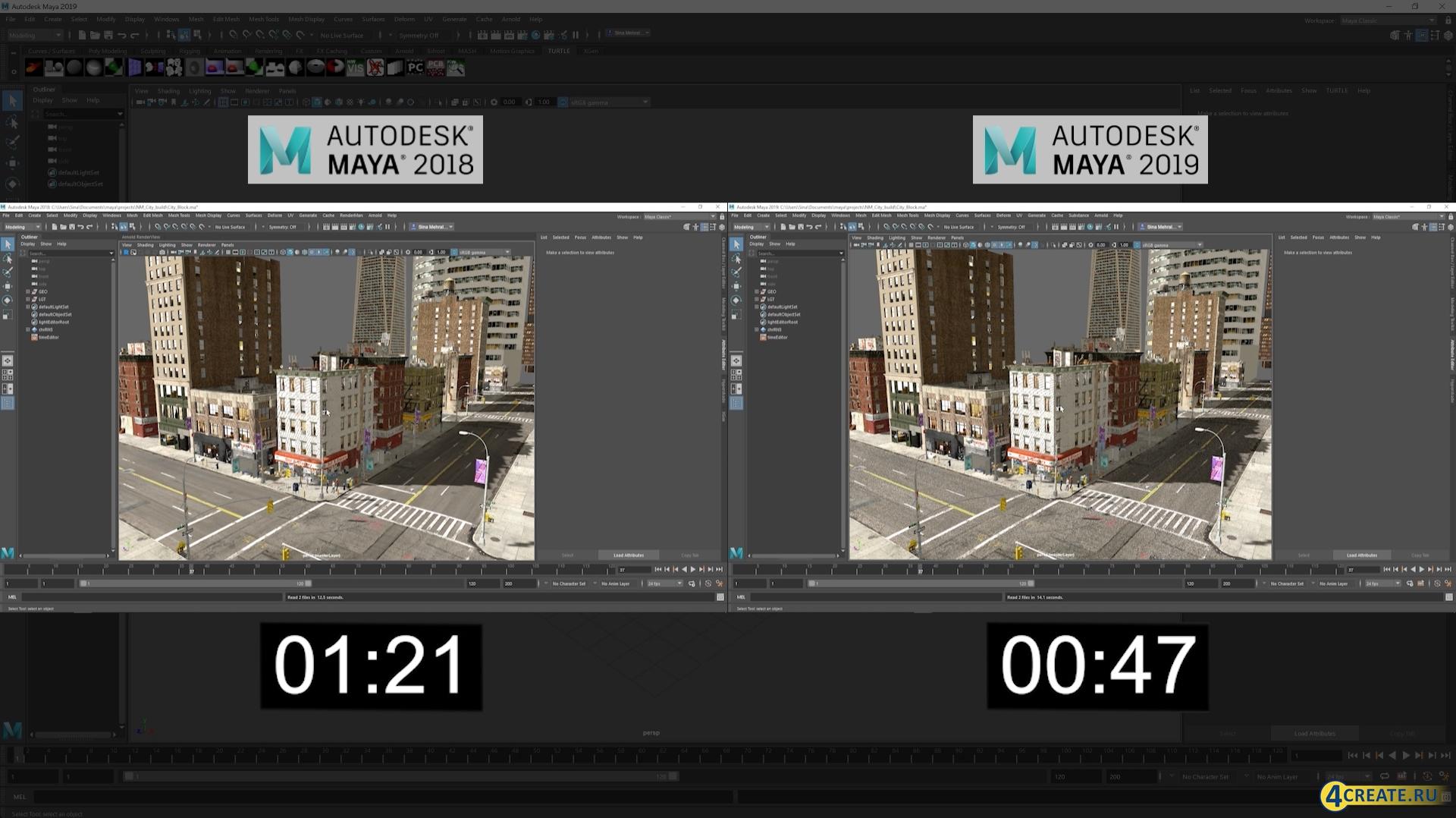 Autodesk Maya 2019 (Скриншот 2)