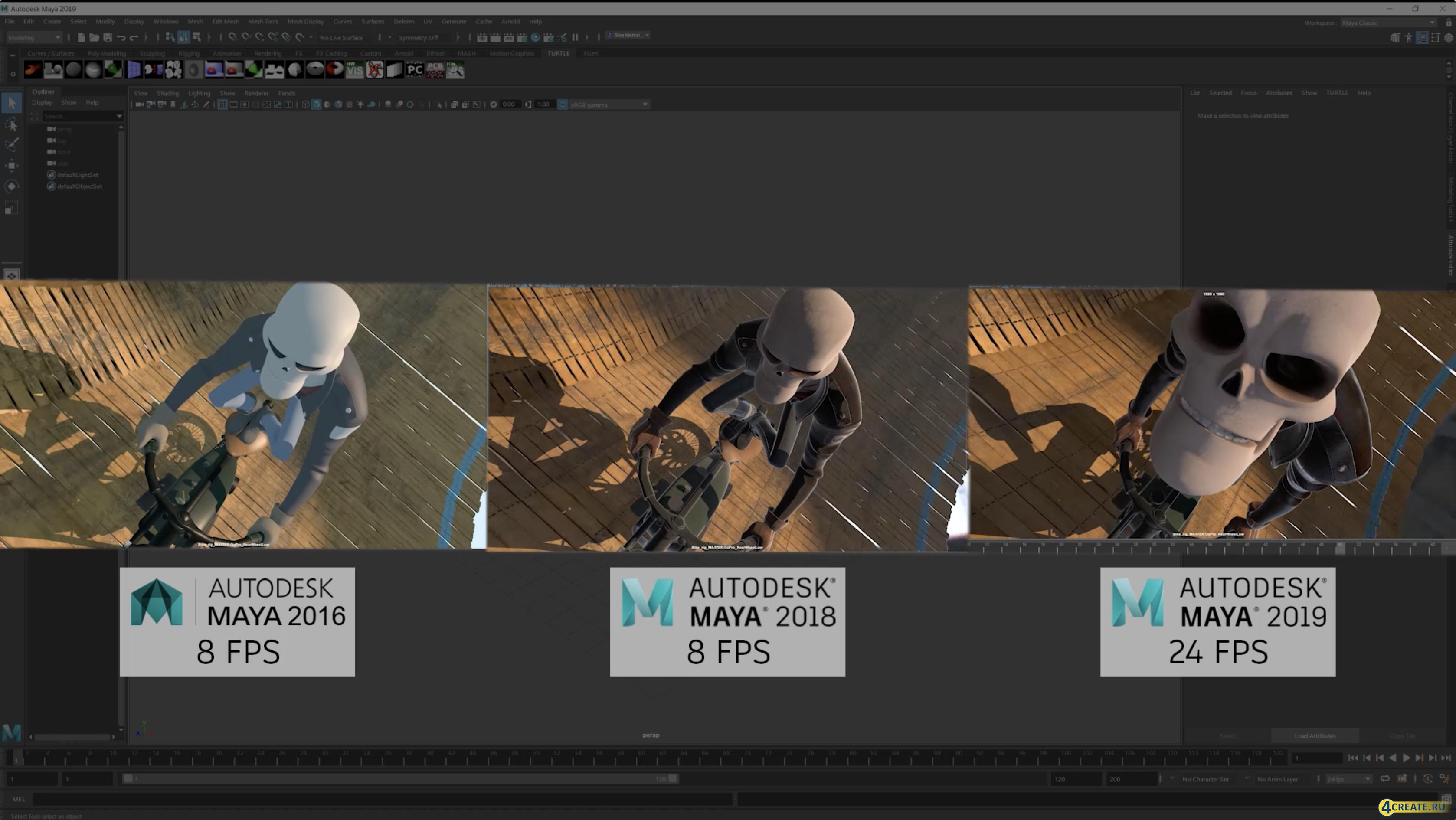 Autodesk Maya 2019 (Скриншот 1)