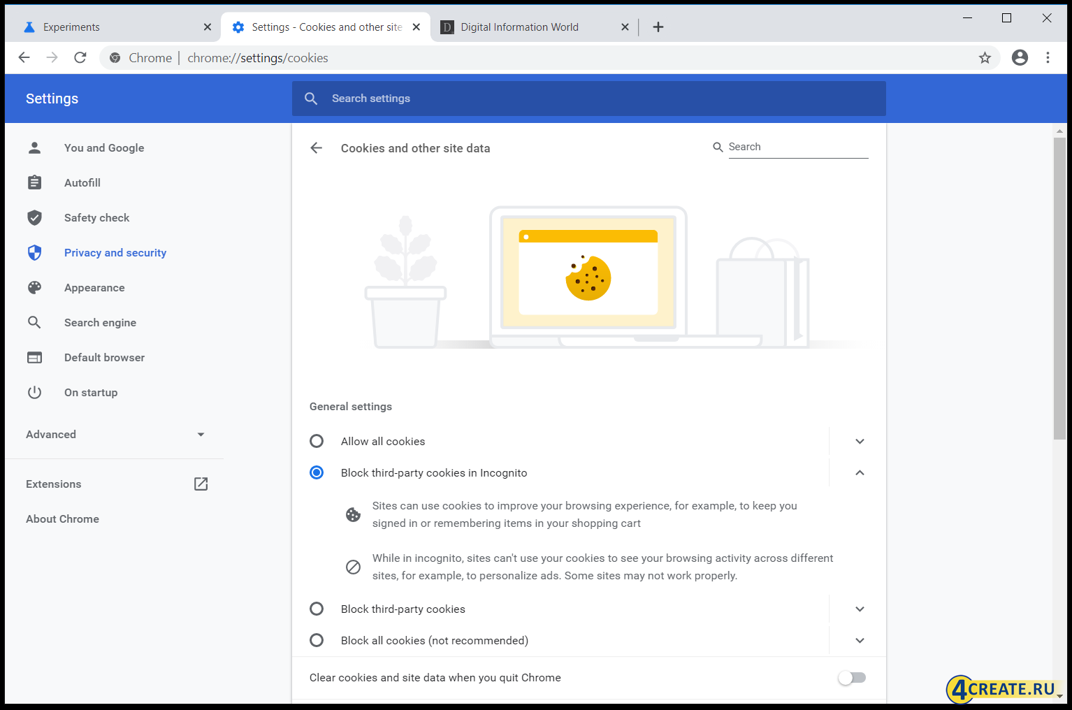 Google Chrome Canary (Скриншот 4)