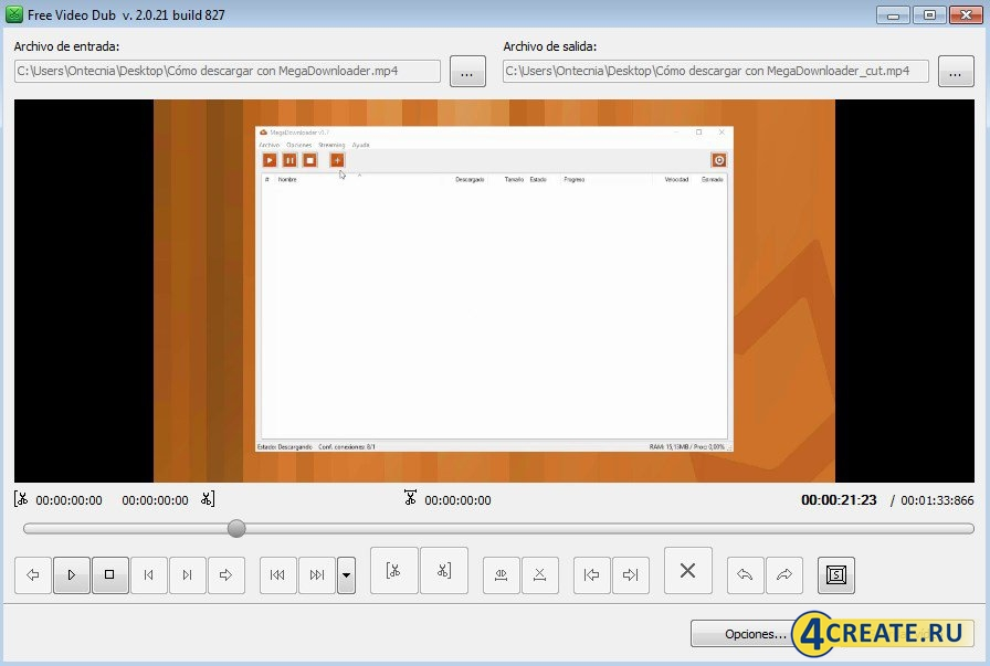 Free Video Dub (Скриншот 1)