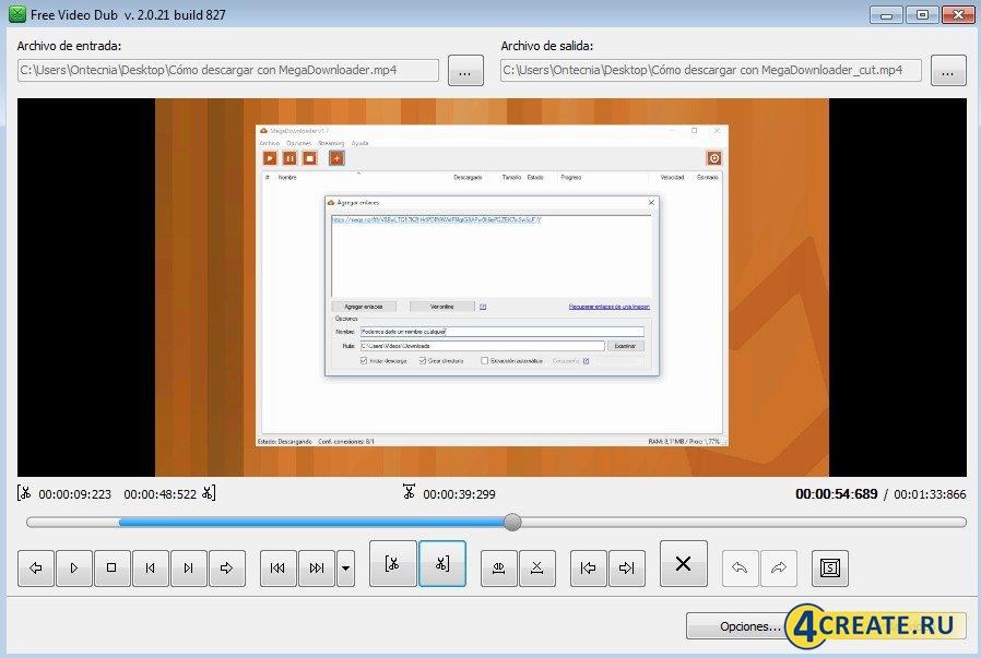 Free Video Dub (Скриншот 3)