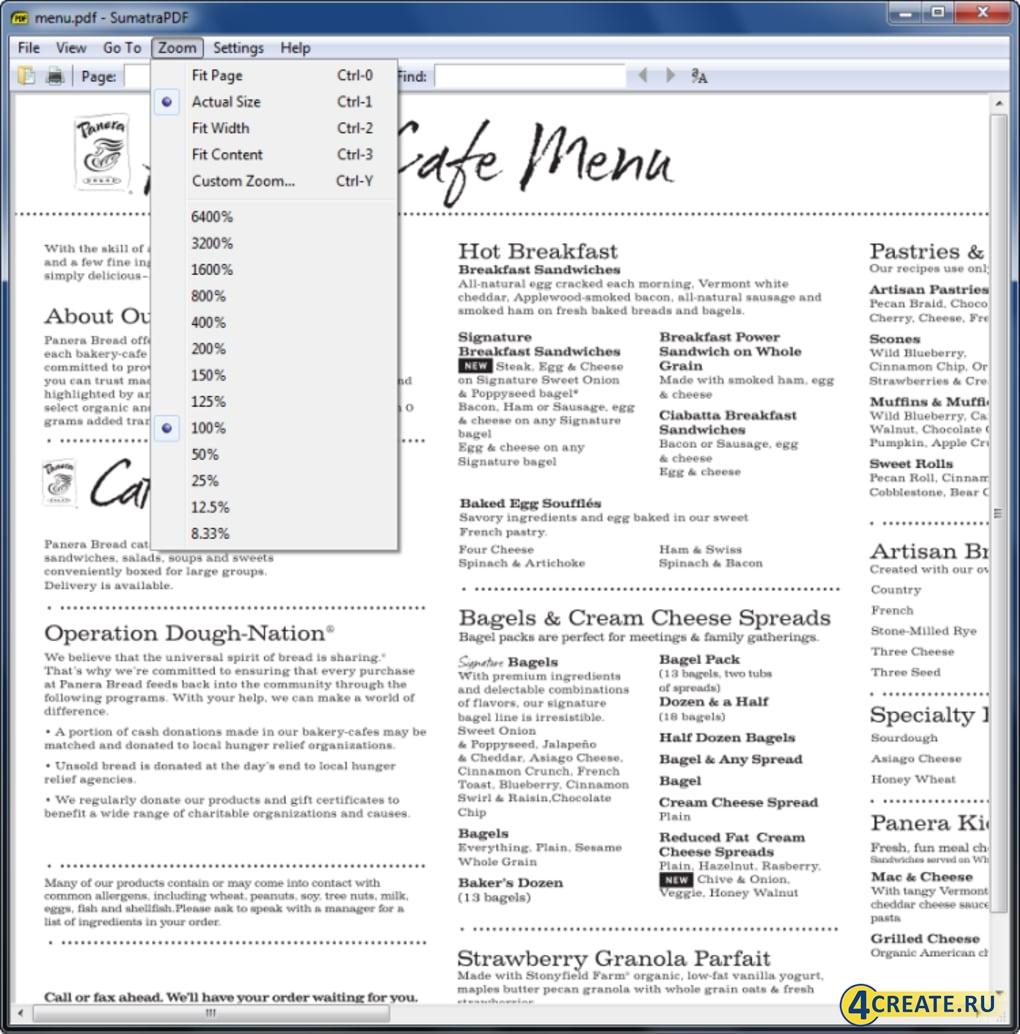 Sumatra PDF 3.2 (Скриншот 3)