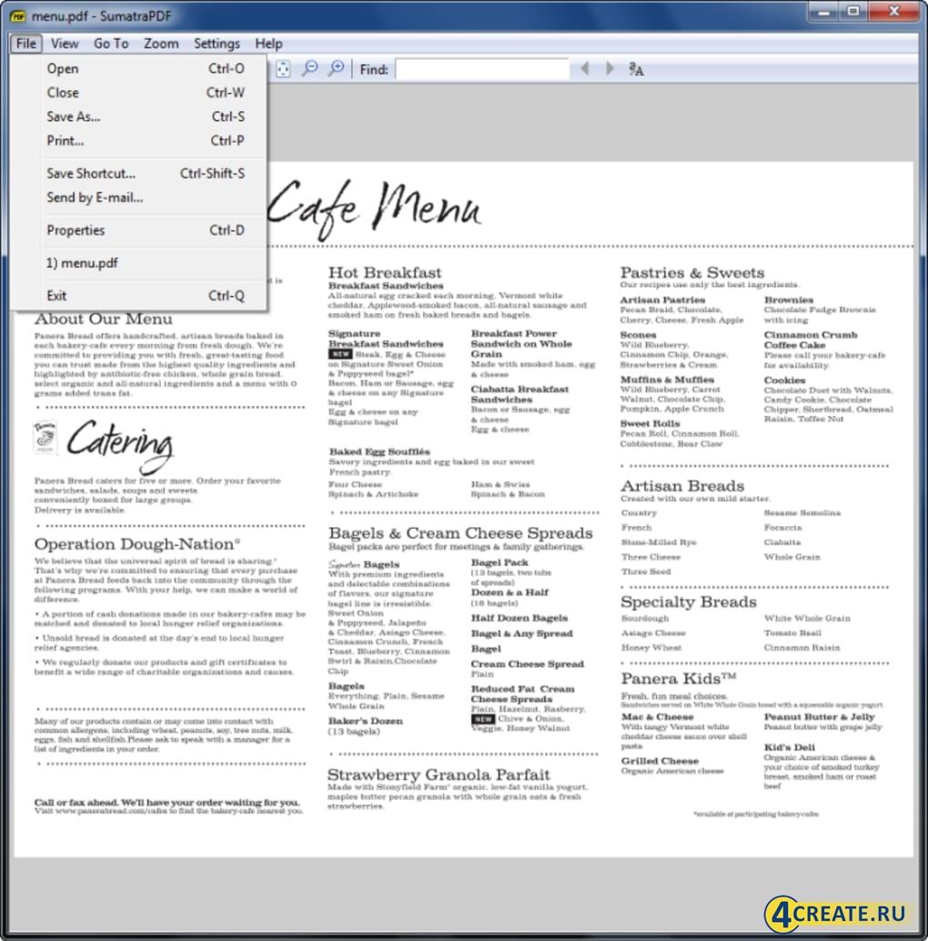 Sumatra PDF 3.2 (Скриншот 2)