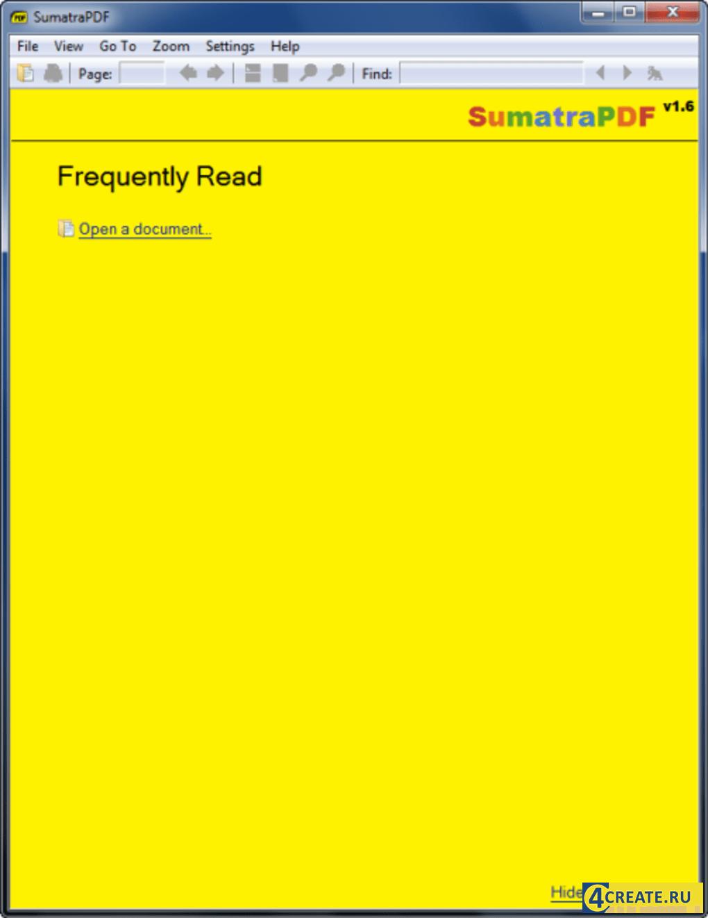 Sumatra PDF 3.2 (Скриншот 4)