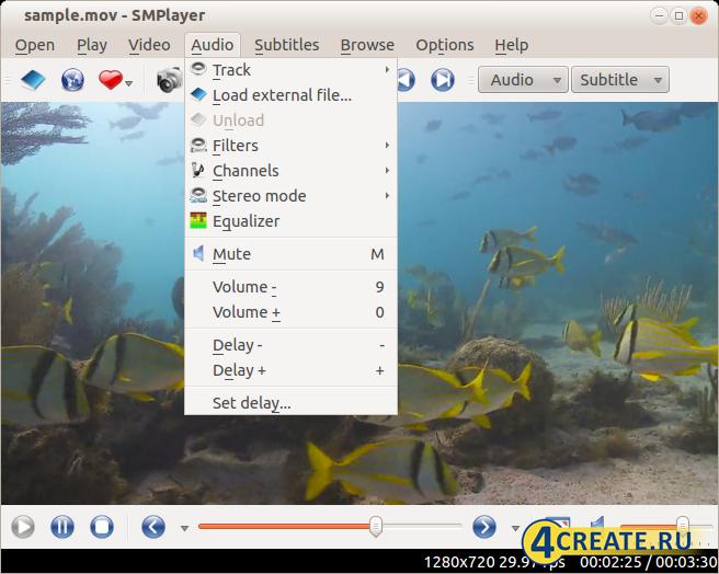 SMPlayer 21.1.0 (Скриншот 1)