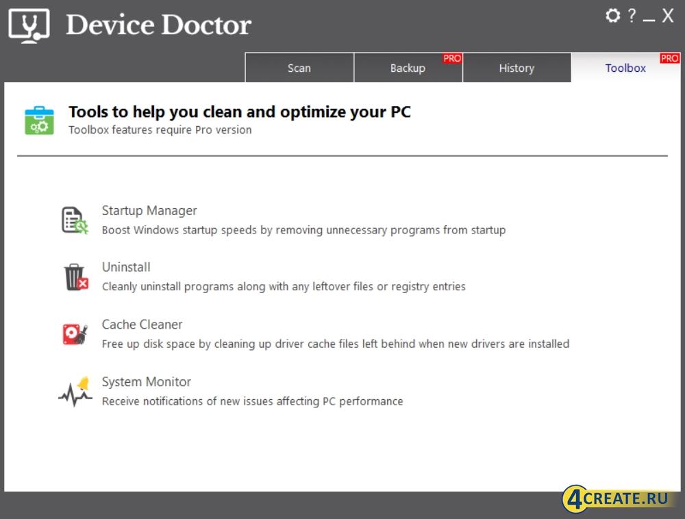 Device Doctor 5.2.473 (Скриншот 4)