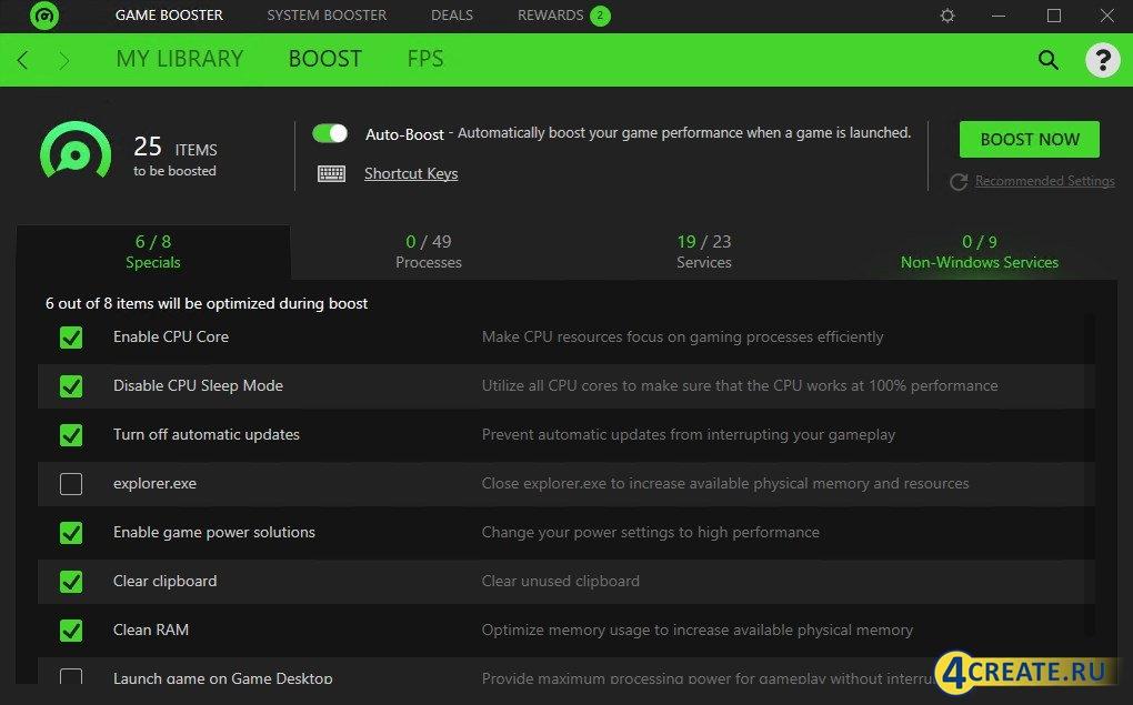 Razer Cortex 9.14.15.1361 (Скриншот 2)